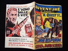 AVVENTURE DI DOMANI n°8 - Ed. Universale 1957 - OTTIMO