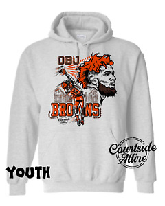 "Kids ""OBJ"" Hoodie Sweatshirt Odell Beckham Jr. Cleveland Youth"
