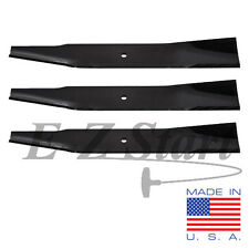 "(3) 15-3/8"" Oregon Mower Blades for 44"" deck AYP Husqvarna Poulan Craftsman USA"