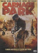 Carnage Park (DVD, 2016, IFC Film) Movie - Robbery Gone Wrong Thriller, Sniper
