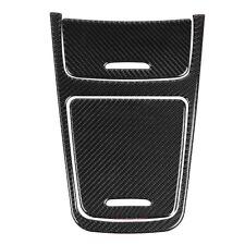 Carbon Fiber Central Control Panel Cover Trim for Mercedes A Class CLA GLA 13-19
