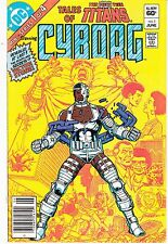 Tales Of The New Teen Titans #1 Mini Series Of 4 Dc 1982 -Cyborg- Victor Stone