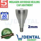 X 5 Megagen Anyridge 2mm Healing Cap Abutment