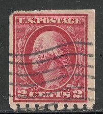 U.S. Postage stamp scott 411 - 2 cent Washington issue of 1912