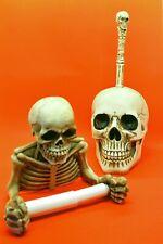 Totenkopf Toilettenpapierhalter 19 X 20 Cm Skull Gothic