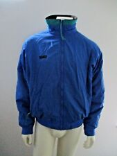Columbia Mens Blue Jacket Winter Ski Snow Vintage Vtg Coat Lined Outerwear