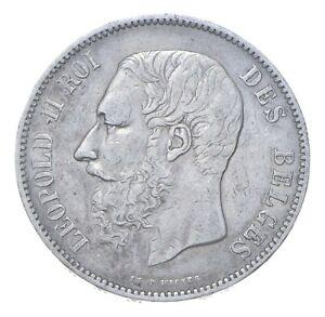 1870 Belgium 5 Francs - SILVER *357