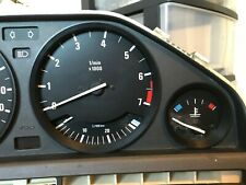 BLACK GAUGE RINGS CLUSTER ABS DASHBOARD DASH for BMW E30 3 SERIES 1982-1991