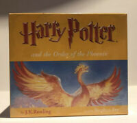 Harry Potter, the Order Of The Phoenix audio book Stephen Fry 22 cd new sealed.