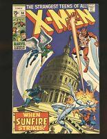 Uncanny X-Men #64, VG+ 4.5, 1st Appearance Sunfire