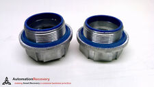 """THOMAS AND BETTS H200A - PACK OF 2 - HUB CONNECTOR, DIAMETER: 2"""",, SEE D #213784"""
