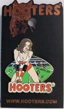 HOOTERS RESTAURANT HOT PRO FOOTBALL GIRL ATLANTA GA GEORGIA LAPEL PIN