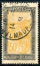 TIMBRE DE MADAGASCAR N° 139 OBLITERE MADAGASCAR ET DEPENDANCES
