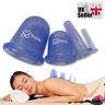 Silicone Massage Cups Body And Facial Anti-Cellulite Medical Cupping Therapy UK