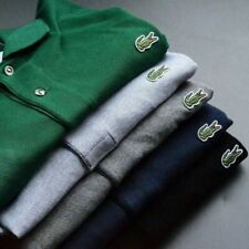 Men's classic Lacoste polo Tops casual logo short sleeve Slim Fit T-Shirt