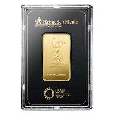 Goldbarren 1 Unze im Blister Heimerle + Meule