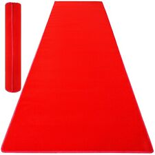 9.8x4ft Red Carpet Aisle Floor Rug Party Decor Crowd Control Non-Slip Wedding