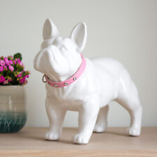 Stunning White And Silver Rabbit with Diamante Eyes Figurine Ornament 22.5 cm