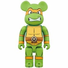 Aug 2018 Medicom Toy Bearbrick BE@RBRICK Michelangelo 1000 Ninja