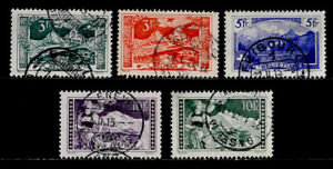 SWITZERLAND: 1914 - 30 CLASSIC STAMP COLLECTION SET SCT #181-85 CV $51.65 SOUND
