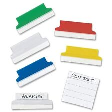 Avery Self-adhesive Index Tab - 20 / Pack - Blue, Red, Green, Yellow, Clear Tab