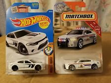 Hotwheels & Matchbox Combo . Dodge Chargers  ( Lot Of 2 )