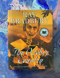 The October Country By Ray Bradbury SIGNED Hardcover Book