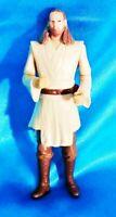 "QUI-GON JINN 4"" 1998 Hasbro Loose Action Figure Star Wars"