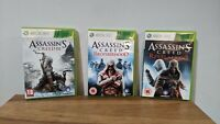 Xbox 360 - Assassin's Creed 3x Bundle - AC3, Brotherhood, Revelations