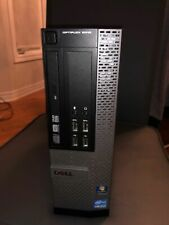 Dell Optiplex 9010 SFF PC Quad Core i5-3570 3.40GHz 8GB RAM 250GB HDD Win 7 Pro