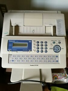 Fax Panasonic, usato poco, bianco grigio.