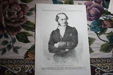 1866  Stich 6 Friedrich Ferdinand von Beust Politiker aus Dresden Andrä Wördern