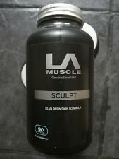la muscle sculpt 90 caps. cla 1000mgs. Fat burner. Fat reduced.