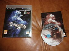 DEMON  ' S  SOULS  Sony PlayStation 3 ps3 COMPLET TRES BON ETAT PAL FRANCAIS