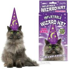 Accoutrements - Inflatable Wizard Hat for Cats  Pet Costumes