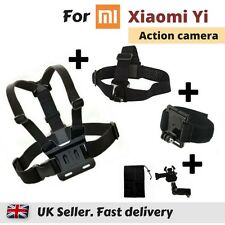 Set of 3 Chest Head Wrist Strap for Xiaomi Yi 4K XiaoYi Yi Action Sports Camera