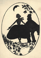 Theatre Program Original Drawing Le Joli Role 1928 Martine Beautiful Bernard Art