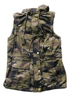Women's Camo Puffer Jacket Size : M