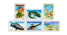 BEN9613  Dinosaurs 6 pcs MNH BENIN 1996