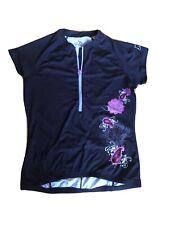 Skirt Sports Cycling Jersey Half Zipper Women's Large