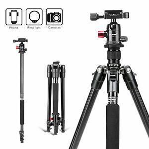 Camera Tripod Monopod Heavy Duty Aluminium & Ball Head for Nikon Canon ZOMEI M6