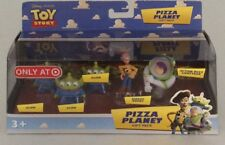 DISNEY TOY STORY PIZZA PLANET GIFT PACK 3 ALIENS, SHERIFF WOODY & BUZZ
