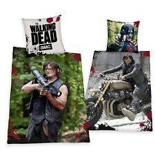 Bettwäsche glatt The Walking Dead Daryl SONDERMODELL 135 x 200 Geschenk NEU WOW