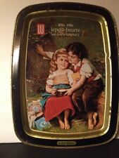 1886-1986 Le Petit-Beurre 100 Year Anniversary Metal Tray Vintage