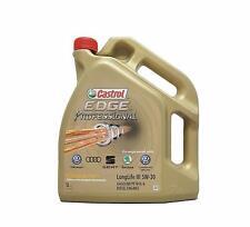 Castrol 5 Litres Edge 5W-30 Long Life Oil Fully Synthetic VW Audi Skoda Seat New