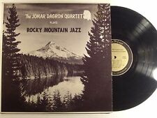 the jomar dagron quartet lp  rocky mountain jazz  cr 3018  mono  vg+/vg+