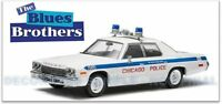 GREENLIGHT DODGE MONACO model THE BLUES BROTHERS BLUESMOBILE/CHICAGO POLICE 1:43