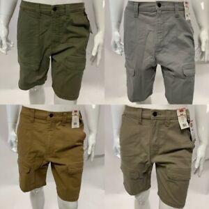 Men's Wrangler Heavyweight Hiker Shorts Tan Khaki Grey Taupe BNWT
