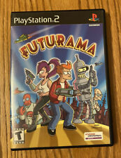 COMPLETE PS2 Futurama Sony PlayStation 2, 2003 DISC MANUAL & CASE RARE CIB