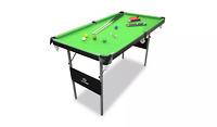 Hy-Pro Snooker and Pool Table - 4ft 6in Including 2x36 Cues Triangle Cue Chalk